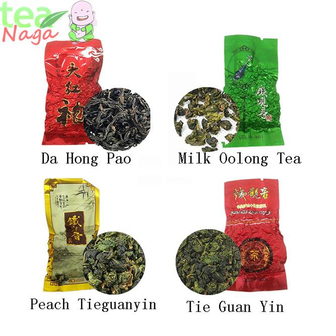 4 kinds tieguanyin tea milky oolong tea tie guan yin oolong tieguanyin tie guan yin china
