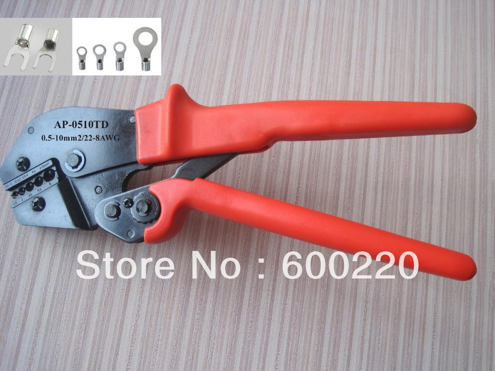 crimp tool for insulated terminals pro crimp tool for non insulated terminals 8 2 awg ebay non. Black Bedroom Furniture Sets. Home Design Ideas