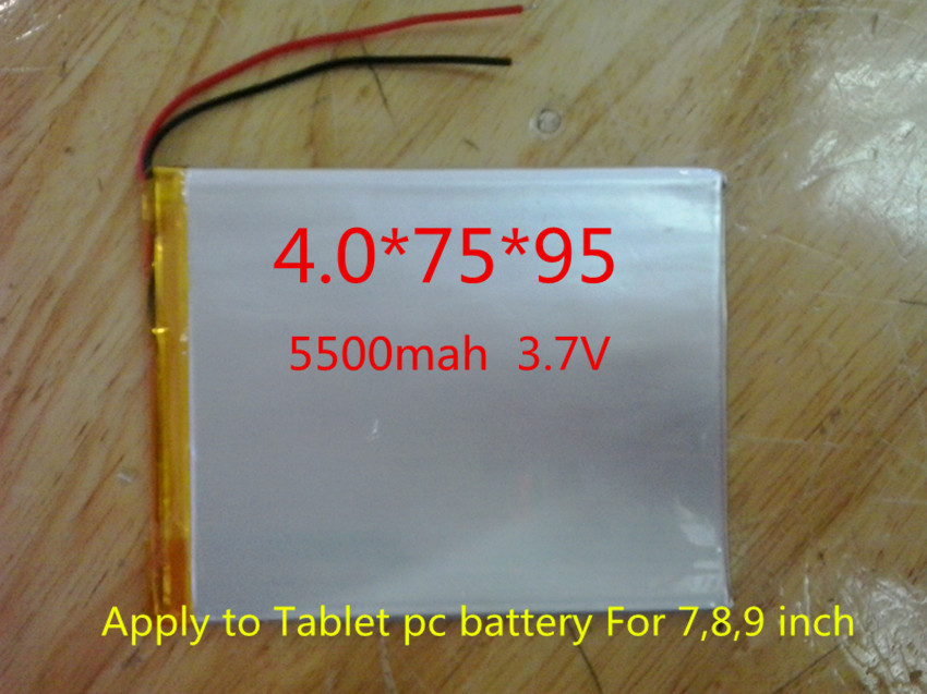 The New Battery 5000mAH Li-ion Tablet pc battery For 7,8,9 inch tablet PC ICOO 3.7V Polymer lithiumion Battery With High Quality<br><br>Aliexpress