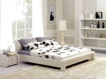 2012 NEW morden leather bed