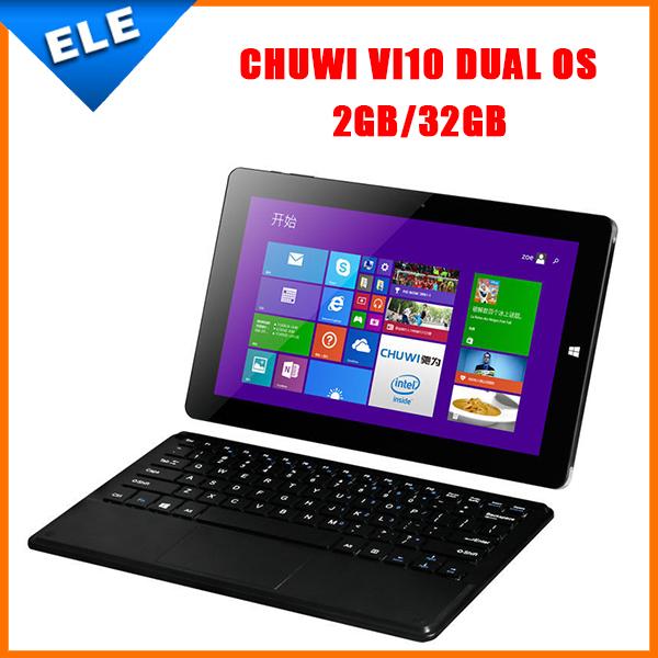 Планшетный ПК 10.6' Chuwi vi10 windows8.1 + Android 4.4 Intel Z3736F 2 32 2/hdmi chuwi hi12 windows 10