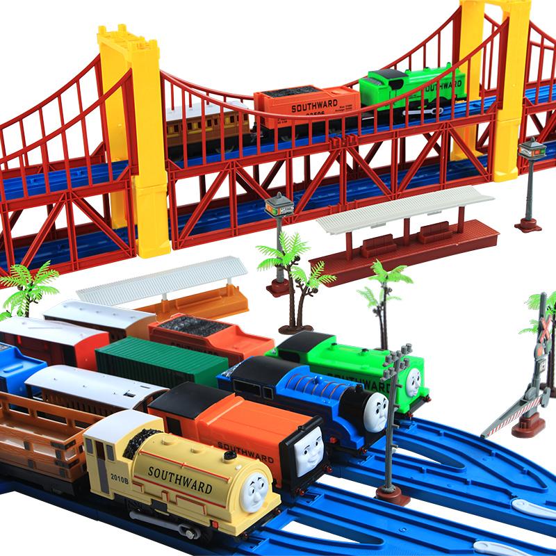 119pcs/set Electric edward thomas train toys car electric child Kids educational toys(China (Mainland))