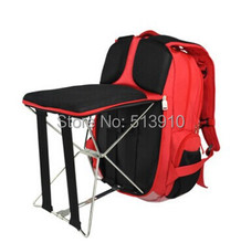 Fishing chair outdoor portable folding stool backpack/High quality portable outdoor folding fishing chair backpack(China (Mainland))