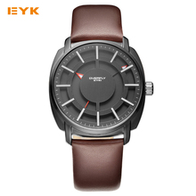 Man Watches 2016 Brand Luxury Double Layer Stereoscopic Skeleton Dial Mens Watches Fashion Sport Watches For Men Quartz-watch