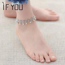 Buy 2016 Hot Vintage Bracelet Foot Jewelry Pulseras Retro Anklet Women / Girl Ankle Leg Chain Charm Bracelet Fashion Jewelry for $1.00 in AliExpress store