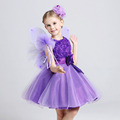 Wholesale Baby Girls Evening Dress Kid s Boutique Graceful Party Dresses Flower Child s Wedding Dress