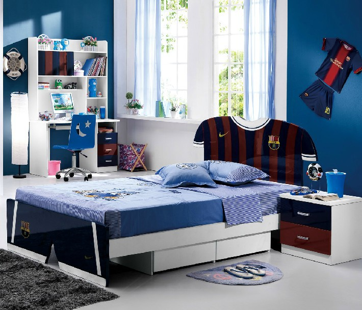 shipping by sea Children furniture suite ,teenage boys bed