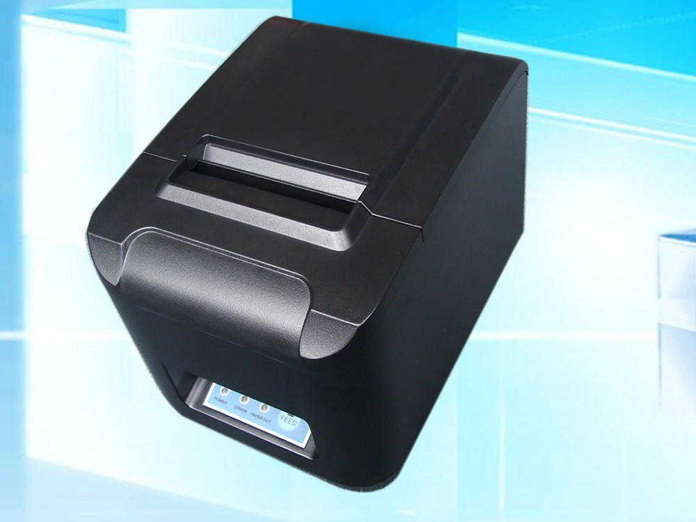 New POS printer 80mm thermal receipt printer 260mm/s ESC automatic cutting machine USB+Serial+Ethernet LAN interface DHL Free(China (Mainland))