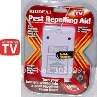 Pest Repeller Aid Riddex Riddex Electronic Control As Seen On TV