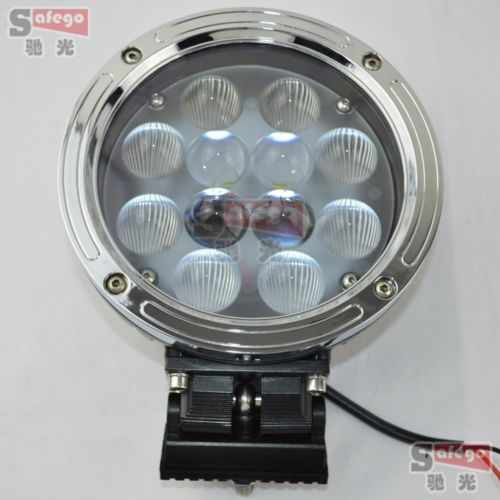 1x 7inch 12v 24v 60w led work lights far lamp for offroad trucks vehicles SUV led driving lights led work light combo beam(China (Mainland))