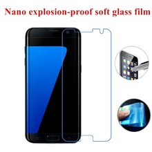 Buy Soft Glass film Nano Explosion-proof glass Screen Protector Samsung Galaxy S7 Edge for $1.59 in AliExpress store