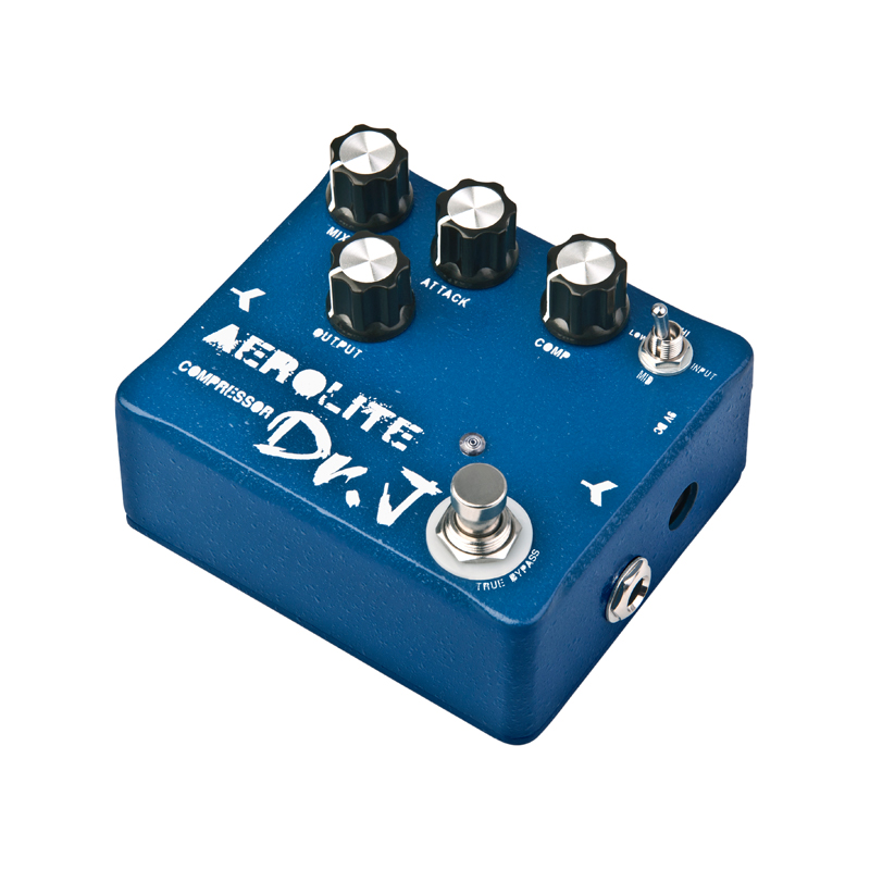 Dr.J by JOYO D55 guitar effect pedal compressor with retained infinite sustain of the original toneTrue Bypass free shipping(China (Mainland))
