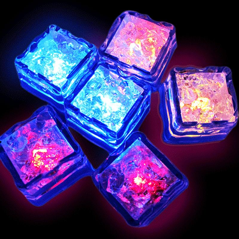 Светодиоды во льду своими руками