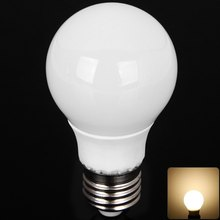 E27 5730-SMD 5W Energy Saving LED Bulb Lamp with Ceramic Cover 10 LEDs 3000K 420LM 85-265V for Hotel Hall Lighting 1020415(China (Mainland))