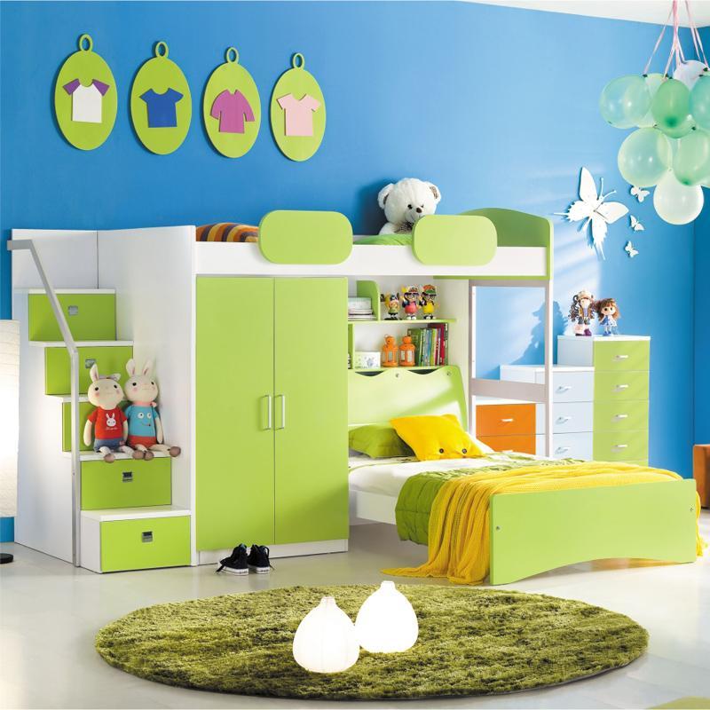 Unterschrank Waschmaschine Ikea ~ Children's furniture wardrobe bed multifunction Korean princess girl