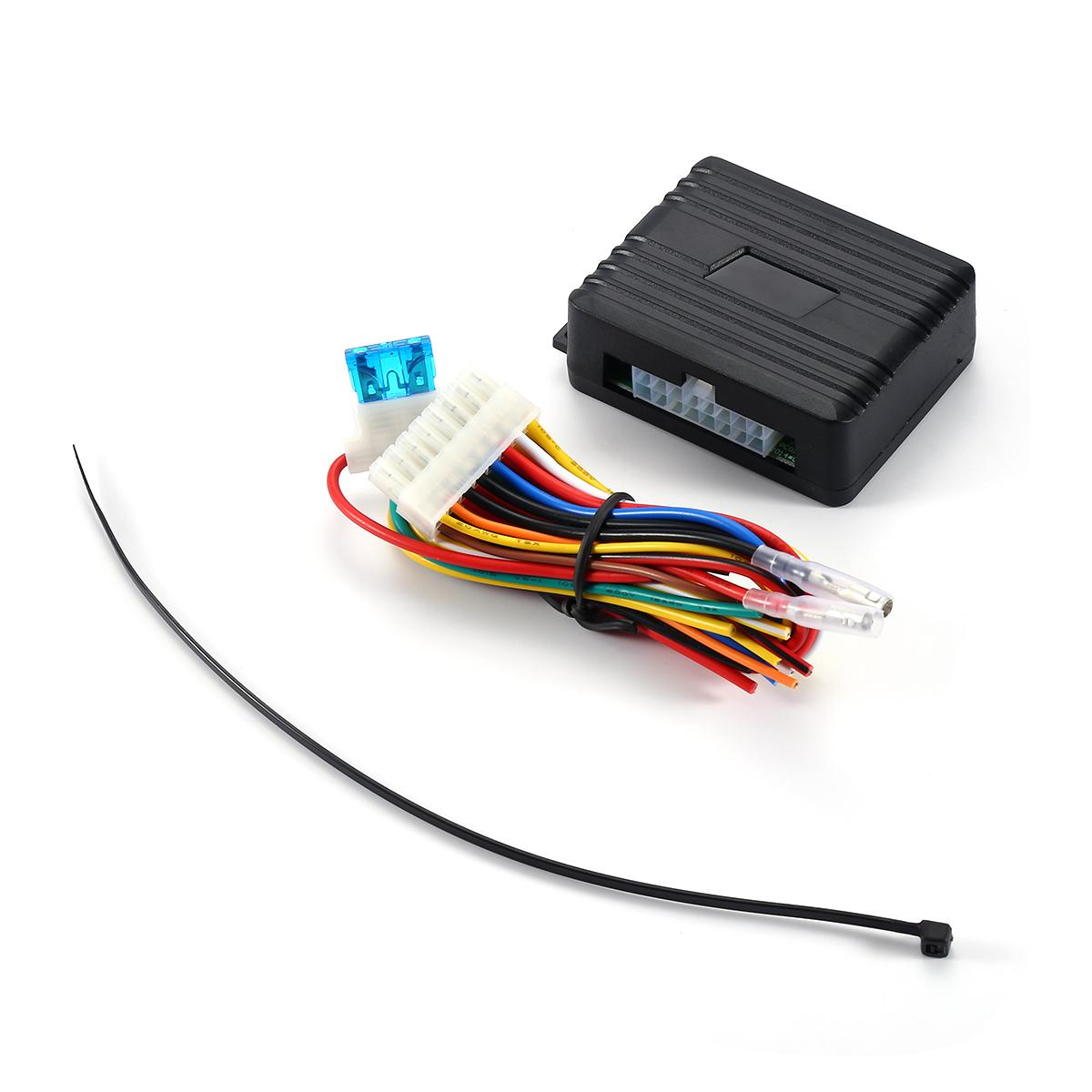2018 Protector Car Universal Electric Power Window Closer Module 4 Wire Harness 1 User Manual