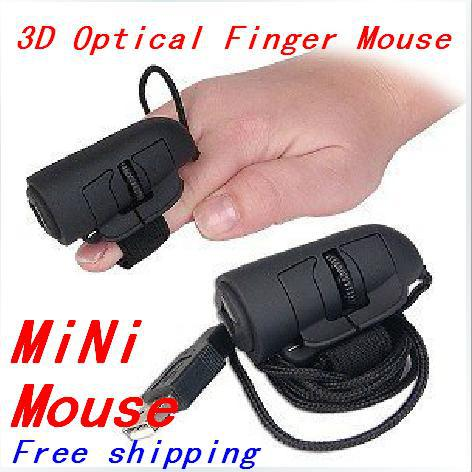 Professional 3D Optical Finger Mouse Ergonomic Wired Mouse Mice Showcase Comfort Simplicity 1200 DPI Laptop PC Computer Notebook(China (Mainland))