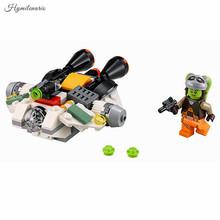 Звездные войны космический корабль Microfighters кирпичи Сокол Тысячелетия X Wing Fighter строительных блоков игрушки совместим с Lego военных кораблей(China)