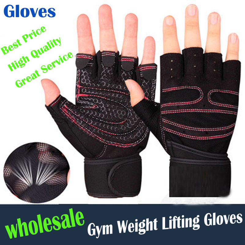 Hompo Ladies Gloves Bodybuilding Fitness Weight Lifting: High Quality Women/Men Gym Gloves Body Building Training