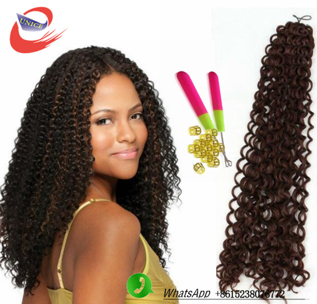 Crochet Hair Pre Loop : ... Hair extension Freetress twist 3x Flexi Lock Pre-loop Hair crochet