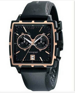 Men s Luxury ar Genuine rubber ar watch Men s Business Quartz Watch Fashion Men Sports