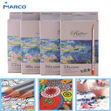 Buy 24/36/48/72 Color Pencil Lapis De Cor Professional Non-toxic Lead-Free Colored Pencil School Supplies Painting Pencils for $5.20 in AliExpress store