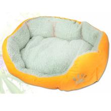 Mulytcolored Pet Dog Puppy Cat Winter Warm Soft Fleece Nest Cozy Bed Plush MatWX