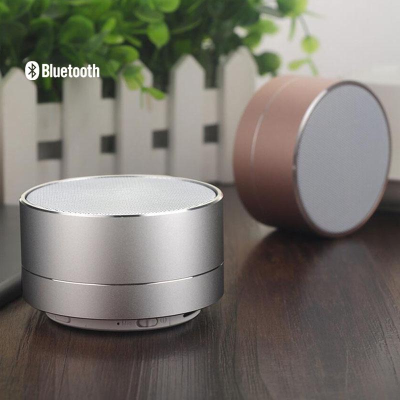 Bluetooth speaker with light aluminum radio call card mini subwoofer Bluetooth small speakers FM radio function Free Shipping(China (Mainland))