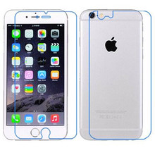 2PCS/LOT Front+Back Preminum Tempered Glass Films For iPhone 6s Plus 5.5 inch Phone Capa High Transparent Clear Screen Protector