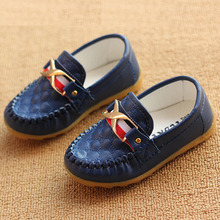 Children's Shoes Baby Flat Casual Boots Boys Girls Color Comfortable Hot Size Tendon Sole Material Oxford Fashion Popular Top Pu(China (Mainland))