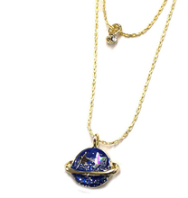 Unisex Charm Necklaces Japanese Cosmos Heavenly body Moon Precious stones Pendants Crystals  Personality Collections H98(China (Mainland))