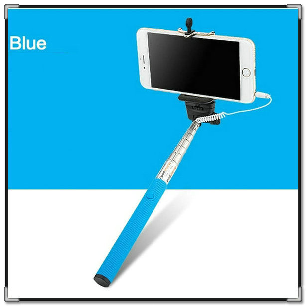 Extendable Handheld Bluetooth Mobile Phone Monopod Camera Tripod Phone Holder Self Selfie Stick for iPhone Samsung No Battery(China (Mainland))