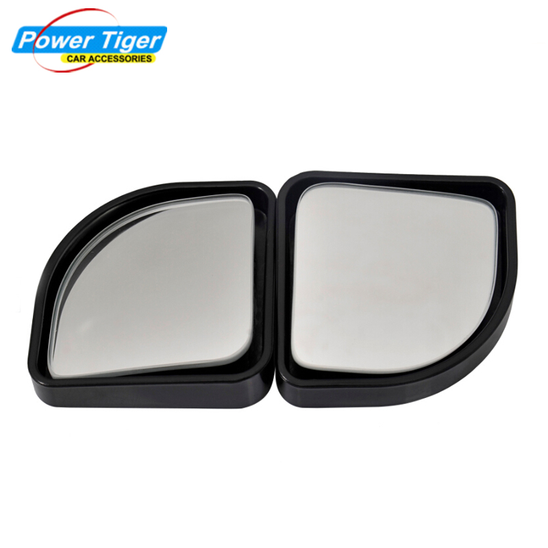 2pc Universal Blind Spot Mirror Convex Wide Angle Rear Side View Car Vehicle - Powertiger Store store
