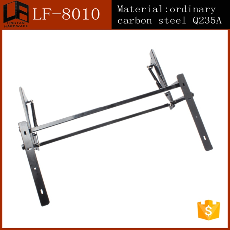Funiture Hardware Lift Folding Coffee Table Mechanism Frame With Spring(China (Mainland))