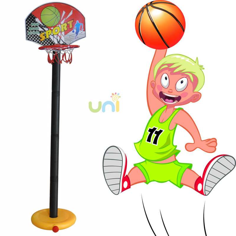 New 2015 MO Practical Outdoor Children or Kids Toys Funny Toy Balls Kids Game Basketball Toy Set Xmas Gifts Cheap Baby Kids Toys(China (Mainland))