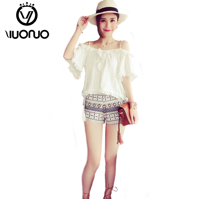2015 summer new bohemian cotton shorts good shorts women(China (Mainland))
