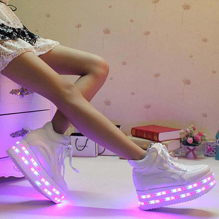 Женские кеды LED shoes 8 USB GXRQ-029 женские кеды adv nce outlets 2015 usb zapatos led lighted shoes