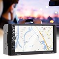 7 inch 2 Din Touch Screen Bluetooth Input Built in GPS CD Radio Player Car