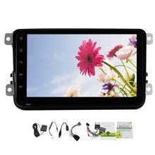 Quad Core Pure Android 4.4 1024*600 8″Capacitive Screen Car GPS Navigation for VW Leon Passat Touran Golf Polo Eos CC Touran