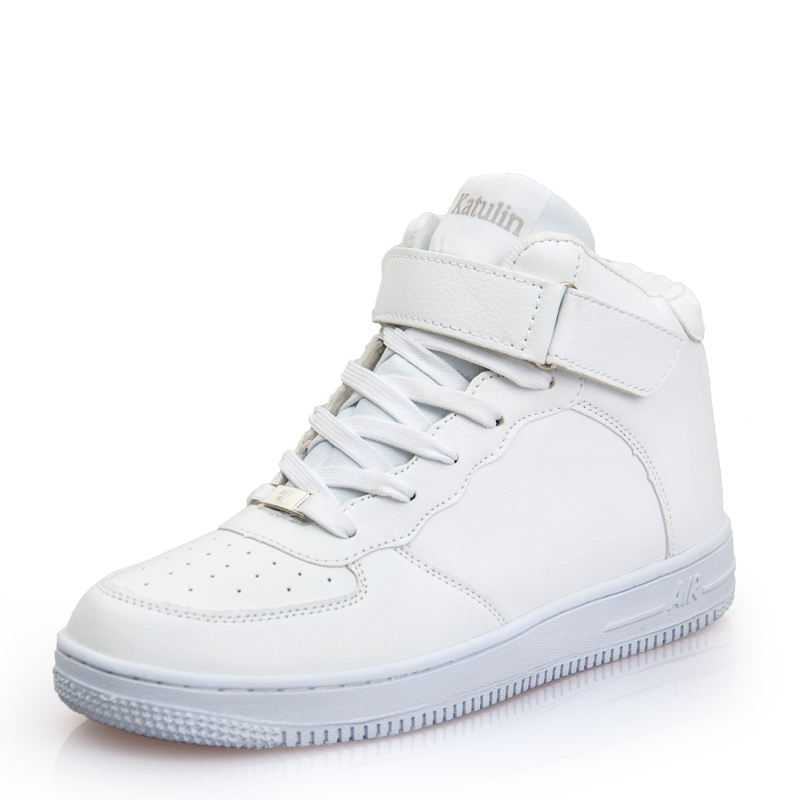 newest classic all white unisex casual shoes footwear high