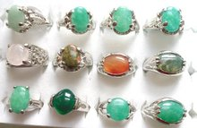 Ring.Jewelry.Size:Q(8);U(10);S(9);W(11).Free shipping.Gift insurance. Provide tracking numbers.Alloy Agate Ring.(China (Mainland))