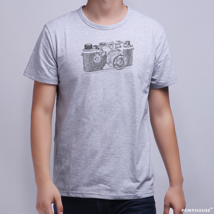 Гаджет  2015J PHT XSR CAMERA to send foreigners to send to friends CLASSIC camera male short sleeved T-shirt None Изготовление под заказ