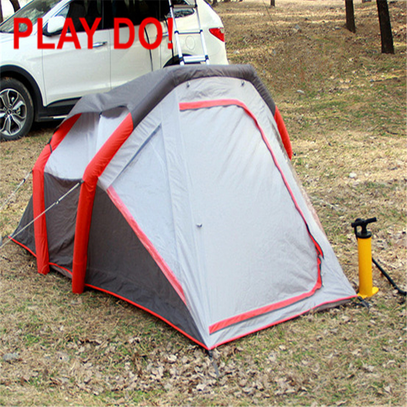 3~4persons pop up tent ,heavy duty fast opening inflatable tent From China factory brand PLAYDO OEM Customized CARTT01-1(China (Mainland))