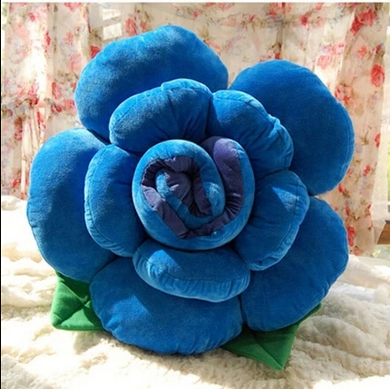 2015 Hot Sale Free Shipping 30cm Rose Flower Cushion home Pillow Stuffed Plush Soft Toy Home decoration plush toys<br><br>Aliexpress