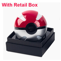 Hot Sale for Pokemons Go Ball Portable phone Charger Power Bank Battery 10000mAh with Dual USB