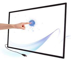 "32"" IR multi touch screen 6 touch points Infrared touch screen panel frame for LED TV(China (Mainland))"