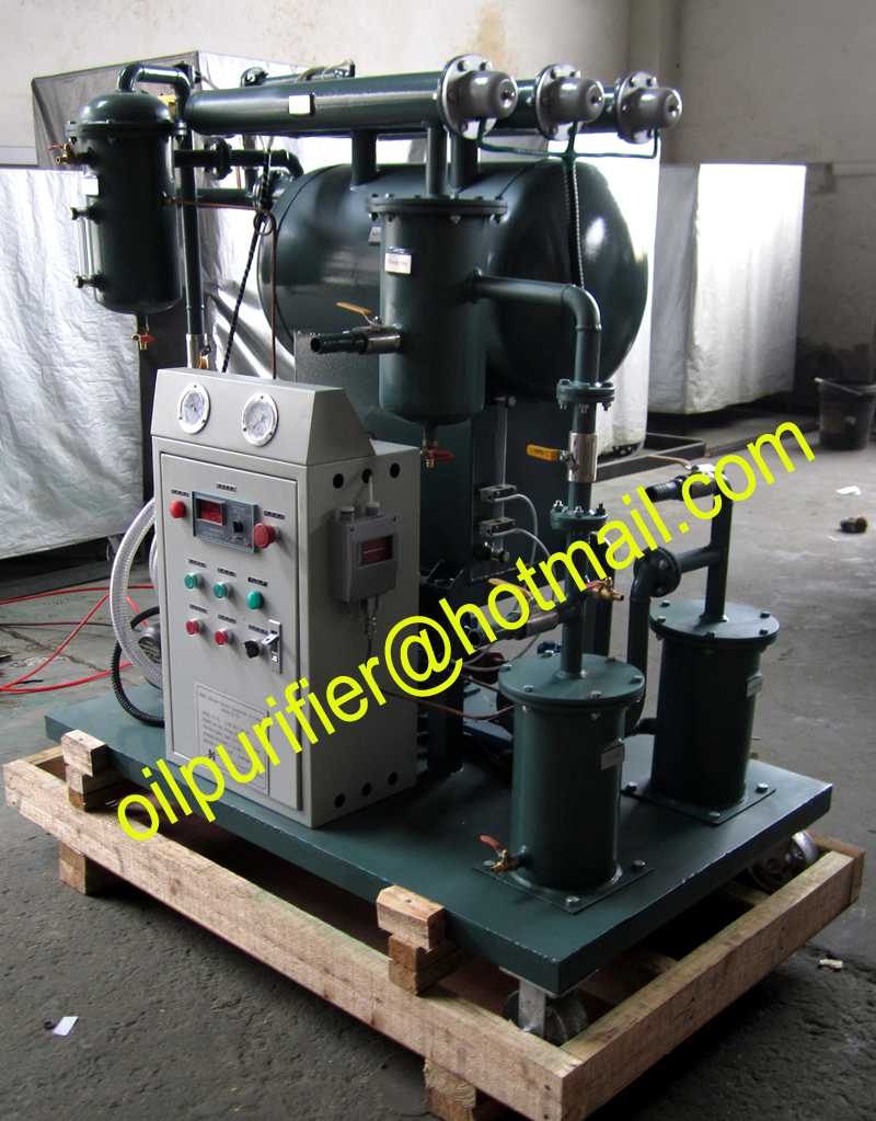 Single stage Insulation Oil Filter machines, Mutual Inductor Oil purifier with Leybold pump(China (Mainland))