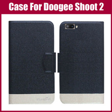Buy Hot Sale! DOOGEE Shoot 2 Case New Arrival 5 Colors Fashion Flip Ultra-thin Leather Protective Cover DOOGEE Shoot 2 Case for $3.90 in AliExpress store