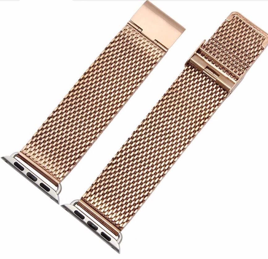 38 мм 42 мм ремешок серебро акула сетки кольчуга нержавеющая сталь мужские женские браслет для я смотрю бесплатная доставка