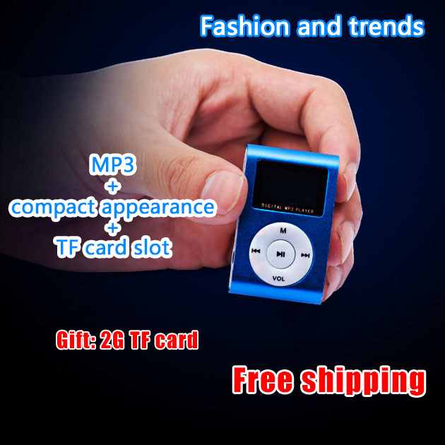 Free shipping TF card storage movement running models MP3 players compact mini easy to carry(China (Mainland))